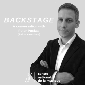 Peter Puskas - Backstage, a Conversation with...